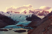 Cerro Torre mountain  in Argentina — Stock Photo