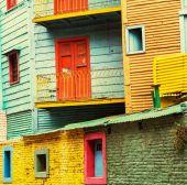 Buenos Aires neighborhood — Stock Photo