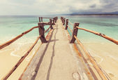 Tropical beach on  Gili — Stock Photo
