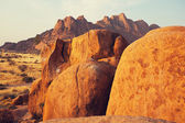 African rocky  landscapes — Stock Photo
