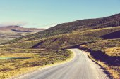 Road in Norway mountains — Stock Photo