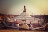 Boudhanath stupa, Nepal — Zdjęcie stockowe