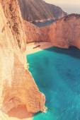 Beautiful sea landscapes in Greece — Stock Photo