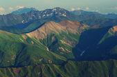 Caucasus mountains panorama — Stock Photo