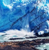 Perito-Moreno-Gletscher in Argentinien — Stockfoto