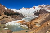 Cerro Torre mountains — Stock Photo