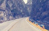 Vägen i mexikanska berg — Stockfoto