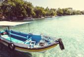 Bateau de pêche à bali — Photo