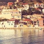 Assos village, Kefalonia island, Greece — Stock Photo #74994535