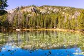 Lake in the Rocky mountains — Stock Photo