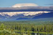 McKinley peak in alaska — Stock Photo