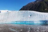 Lake on Kennecott glacier — Stock Photo