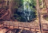 Ramona falls in Oregon — Stock Photo