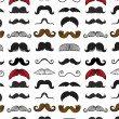 Moustache icons isolated set as labels -Stock Illustration — Stock Vector #73848143
