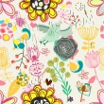 Retro floral seamless pattern  -  Stock Illustration — Stock Vector #73847343