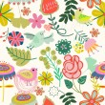 Retro floral seamless pattern  -  Stock Illustration — Stock Vector #73847373