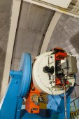 Large optical telescope — Stock Photo