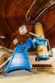 Old trophy large optical telescope — Stock Photo