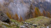 Autumn landscape in the Alps — Stockfoto