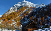 Alpenpanorama — Stockfoto