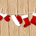 Santa claus clothes — Stock Vector #57689719
