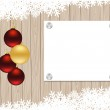 Christmas template — Stock Vector #58614559