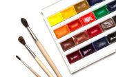 Set of watercolors — Stock Photo