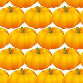 Pumpkins seamless — Stock Vector