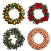 Set of Christmas garland. — Stok fotoğraf