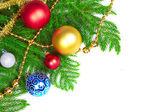 árbol de navidad decoración. — Foto de Stock