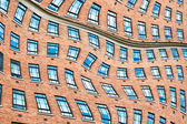 Surrealistic windows. — Stock Photo