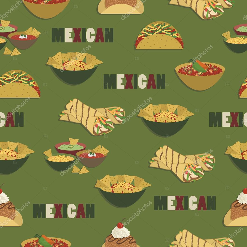 HD wallpapers vector mexican food