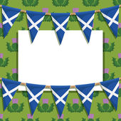 Scotland decoration — Stockvector