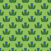 Thistle pattern — Stockvector