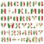 Mexico alphabet — Stock Vector