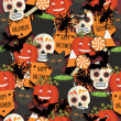 Halloween pattern — Stock Vector #54284149