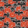 Halloween pattern — Stock Vector #55044273