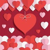 Decoración de San Valentín — Vector de stock