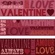 Valentine banners — Stock Vector #62346969