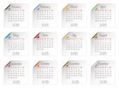 Calendar for 2015 — Stock Vector