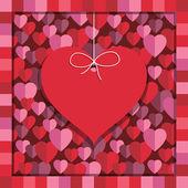 Valentine decoration — Cтоковый вектор