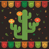 Mexican decoration — Vector de stock