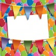 Party background — Stock Vector #78790230