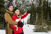 Young Wintersports Couple — Stock Photo