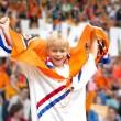 Supporter of Dutch national team — Stock Photo #62424625