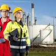 Two safety specialists — Stock Photo #62424819