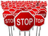STOP — 图库照片