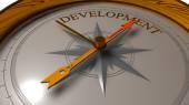Development concept. — Stock Photo