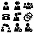 Business man icons set pack — Stock Photo #52603035