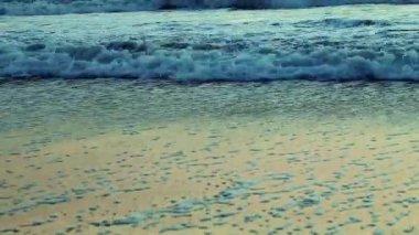 Beautiful sun rise over sea — Vídeo de Stock
